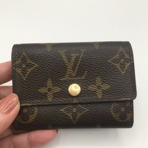 Authentic Louis Vuitton plat coin purse